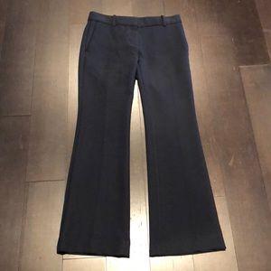 ANN TAYLOR NAVY BLUE DEVIN DRESS PANTS 00P